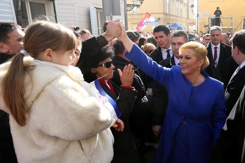 Predsjednica Grabar-Kitarović izabrala većinu savjetnika