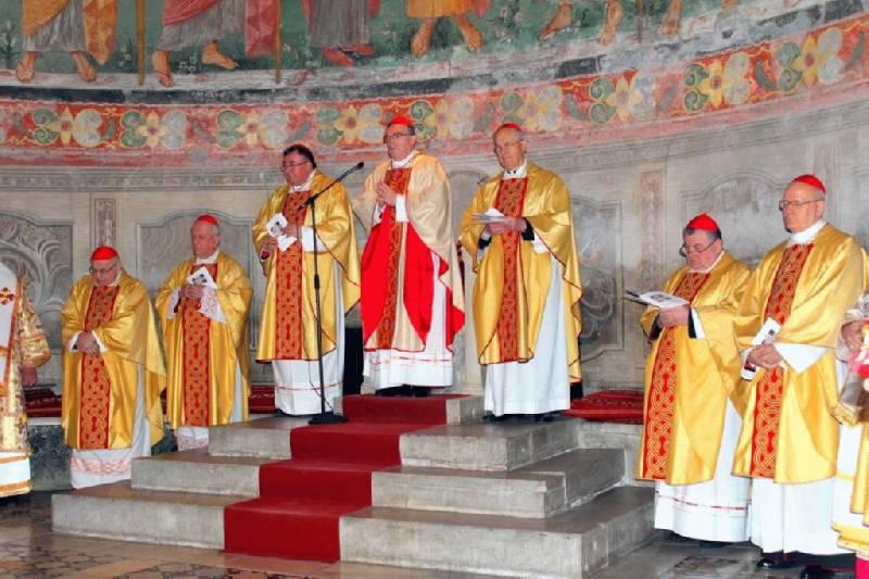 Kardinal Josip Bozanić predvodio u Rimu svečanu misu za blagdan sv. Ćirila i Metoda