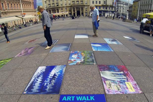 Natječaj – ART WALK 4. Festival umjetničkih naljepnica