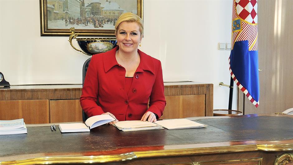 Grabar-Kitarović: najkonkretniji prijedlog izlaska iz krize je ostavka premijera Milanovića