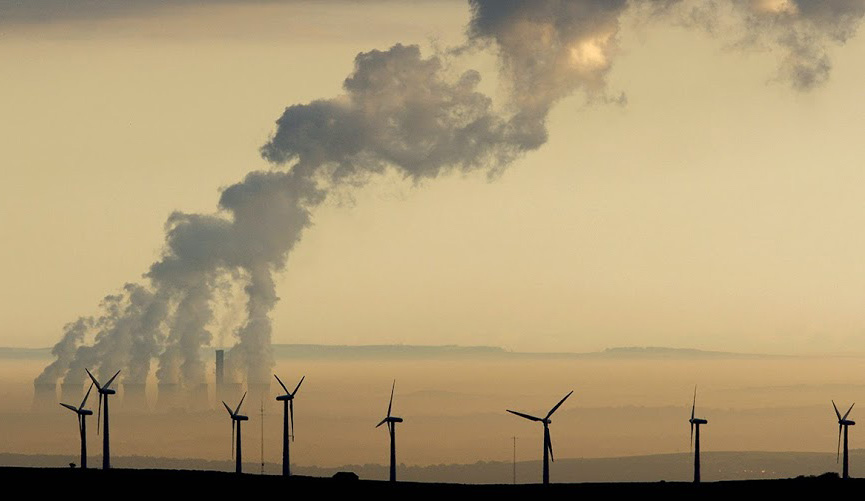 air pollution coal plant green energy