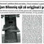 3 Tomislav Marijan Bilosnić originalan glas hrvatske poezije popratio je tjednik Nacional br 298