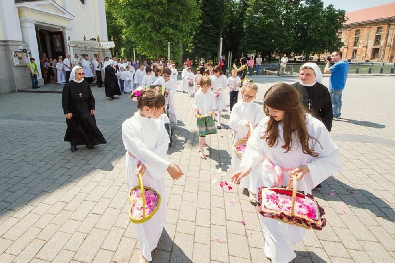 Svetkovina Tijelova proslavljena u sisačkoj katedrali