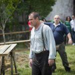 Eric Cantona en tournage du film Anka réalisé par Dejan Acimovic en Croatie