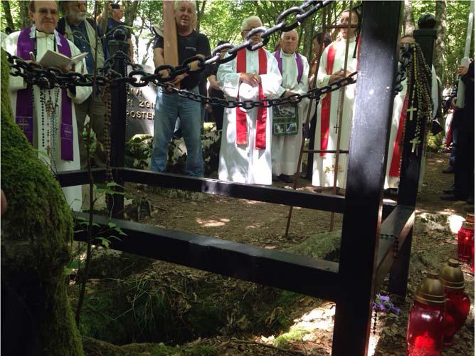 Spomen-pohod žrtvama komunističkog terora kod jame Jazovke