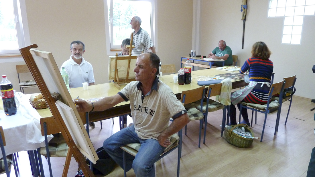 Mala likovna kolonija u Kozarevcu