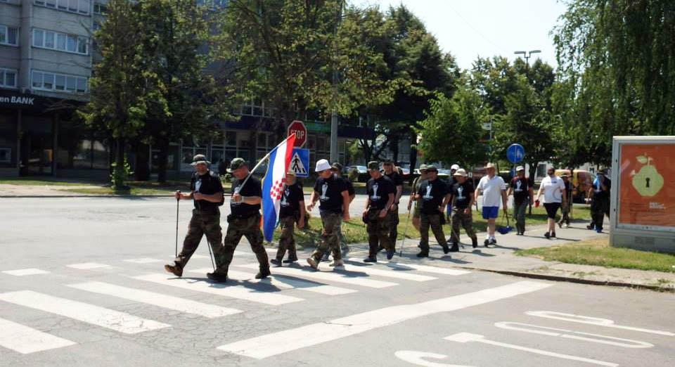 Počelo kodočašće Kutina – Vukovar
