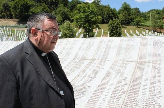 Kardinal Puljić posjetio Srebrenicu