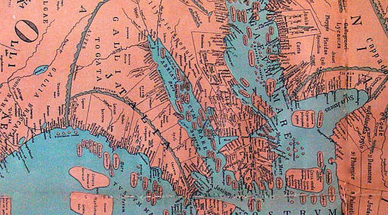 Evo kako je kartograf u vrijeme Krista vidio Hrvatsku