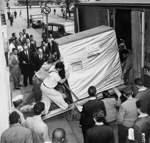 Što je bilo pet megabajta godine 1956.