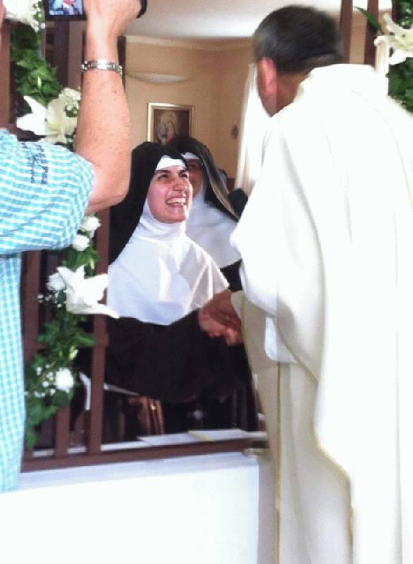 Svečani zavjeti klarise s. Marije Marijane od Bezgrešnog začeća BDM