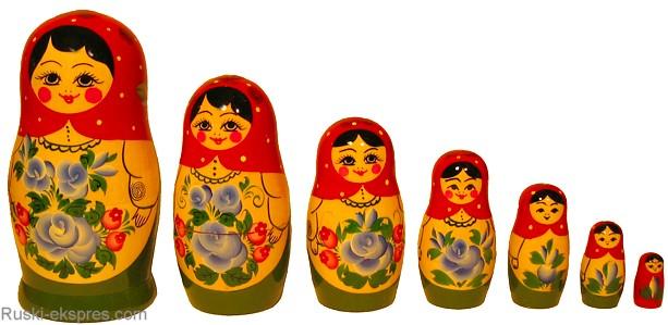 Kako je matrjoška postala glavni simbol Rusije
