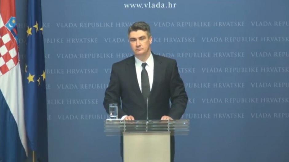 Milanović: Nećemo prestati tražiti i kopati dok god postoji tračak nade