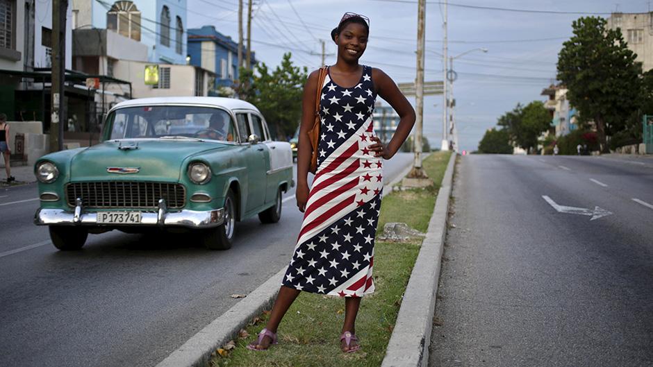 Kubanci u bojama američke zastave