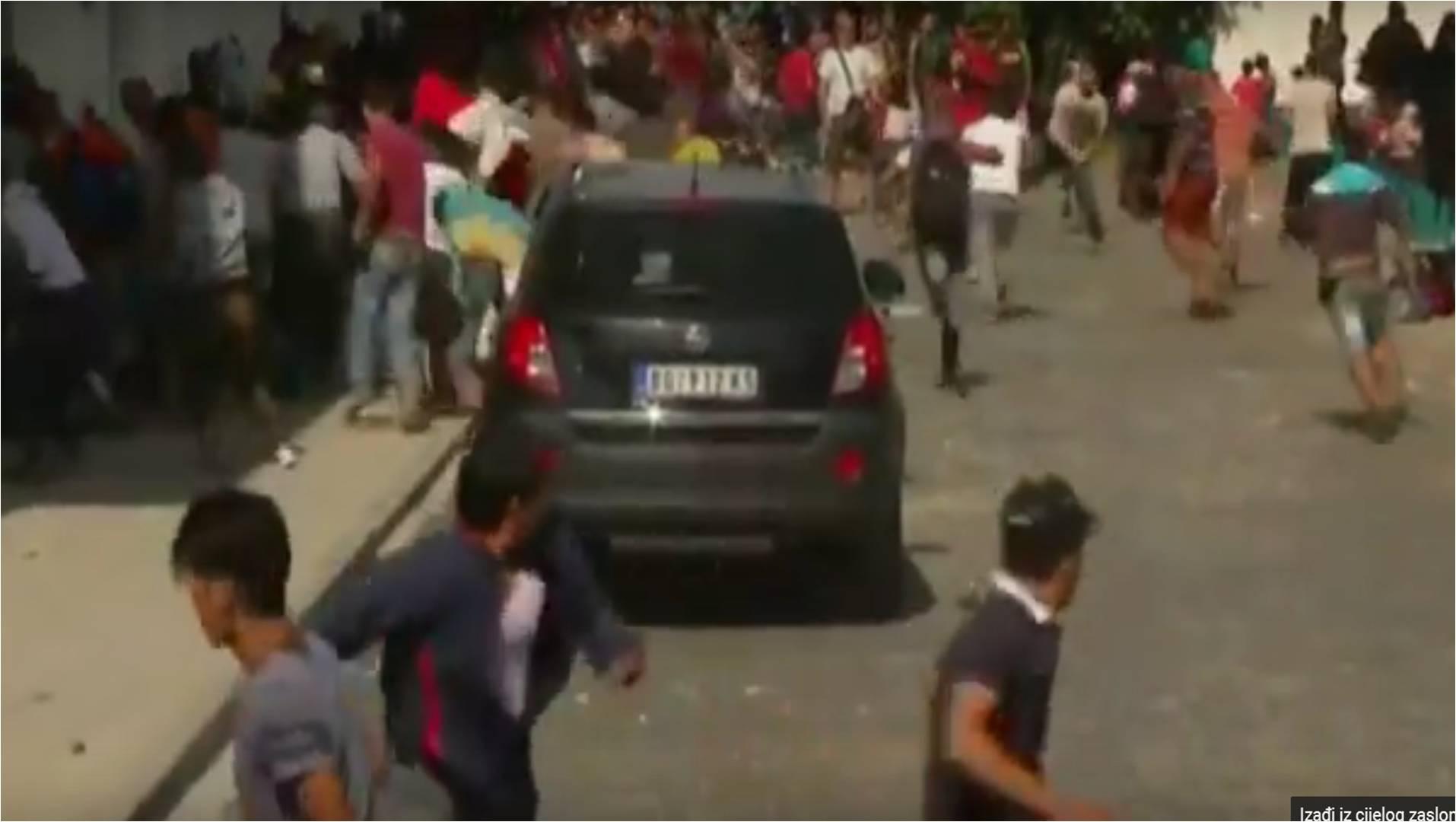 Beli Manastir – Izbili neredi među izbjeglicama, pristiže ih sve više i svi samo žele otići iz Hrvatske