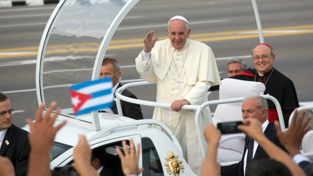 Papa se u Havani susreo s Fidelom Castrom