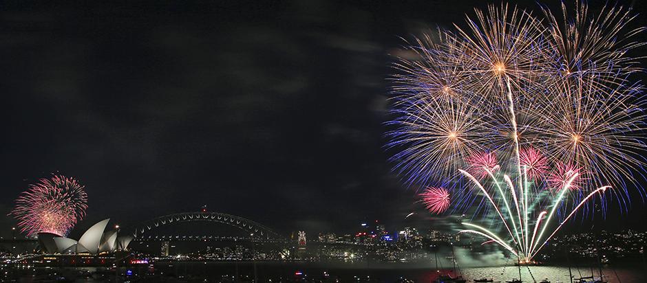 Nova godina stigla u Australiju