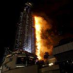 dubai hotel fire reuters