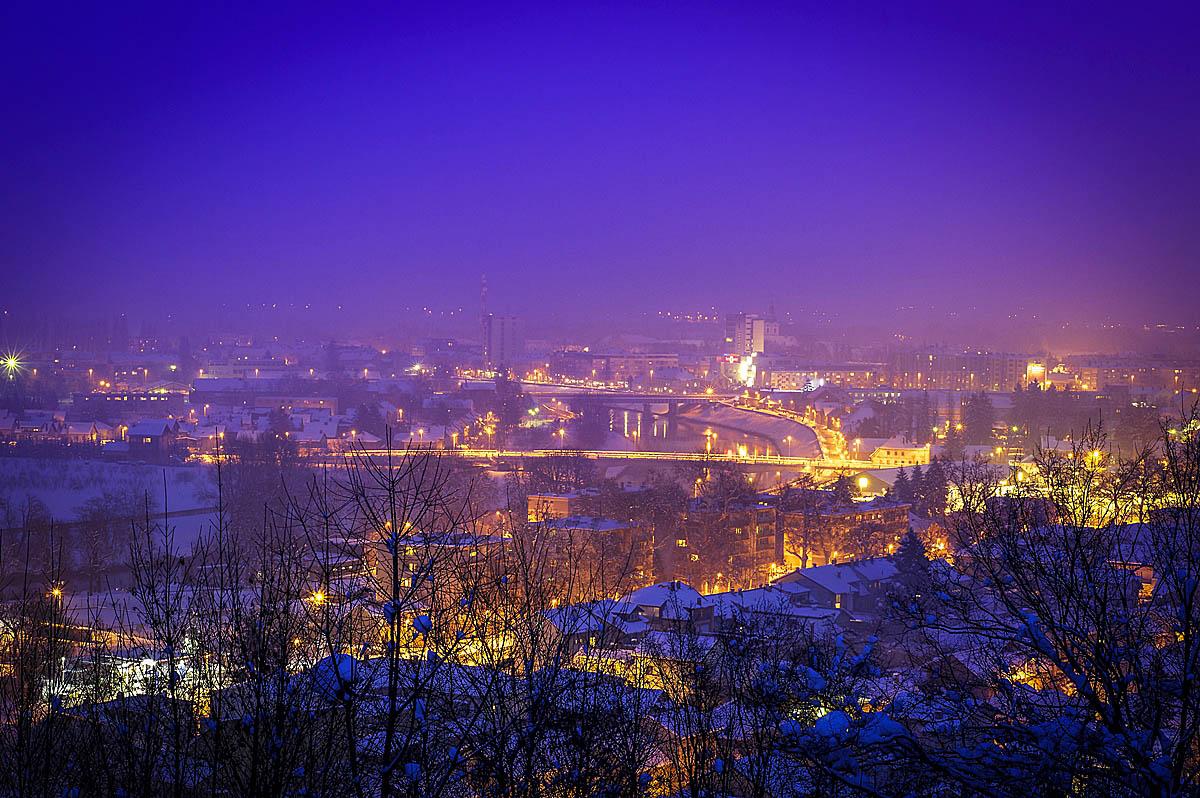 Karlovac pod snijegom u objektivu Marine Đarmati