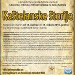 Plakat Kaštelanske štorije 2016