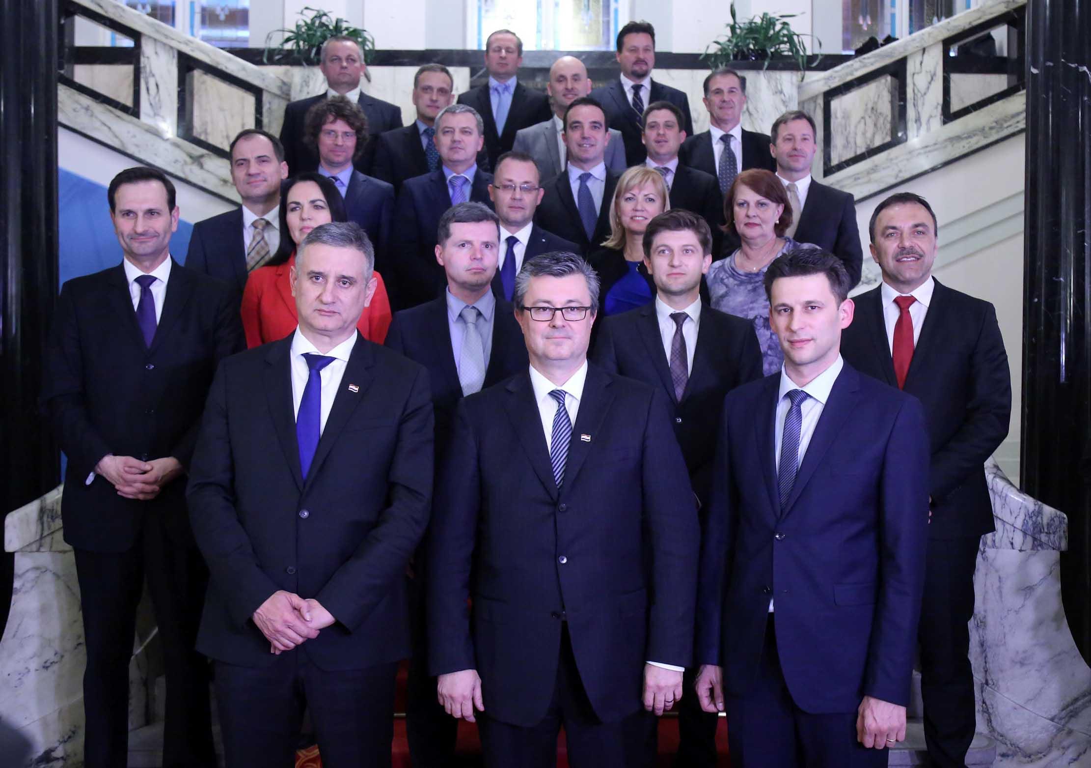 Evo koji fakultet je završilo najviše ministara u novoj hrvatskoj Vladi