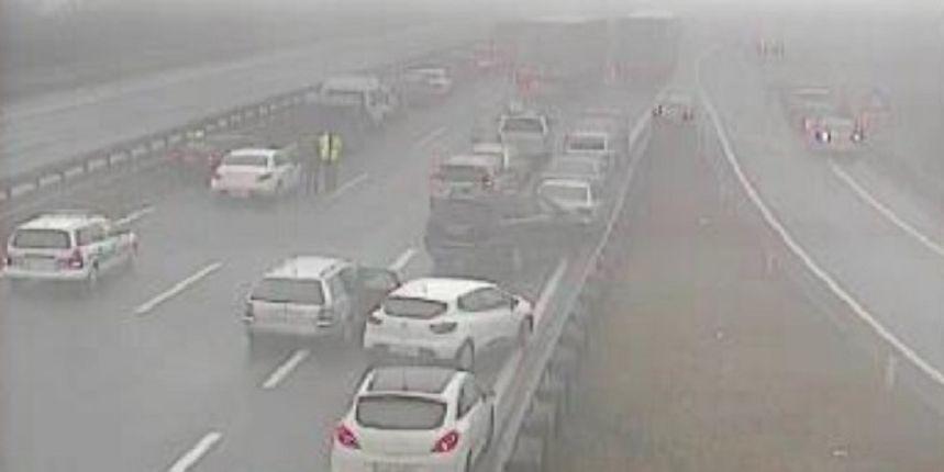 Teška prometna nesreća u Sloveniji