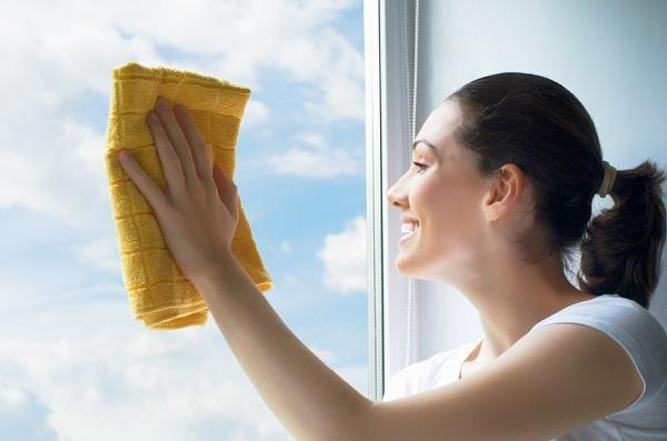 homemade natural window cleaner