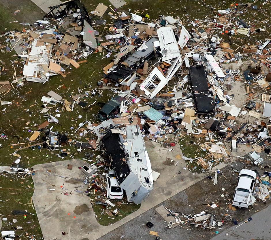 Posljedice oluje u SAD-u