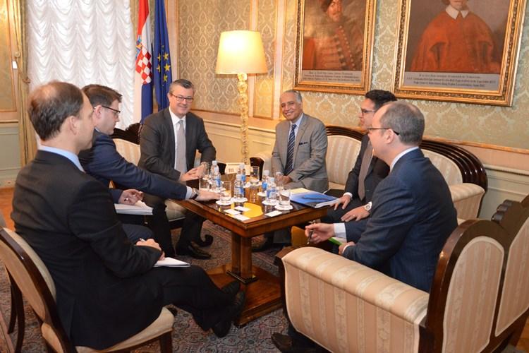Predsjednik Vlade Tihomir Orešković primio novog direktora Svjetske banke za Europsku uniju