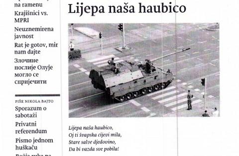 """M. M. Letica o vrijeđanju i provociranju u srpskome tjedniku """"Novosti"""""""