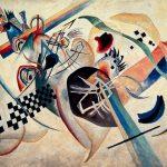 Vasilij Kandinski Na bijelom 1920 Ruski državni muzej