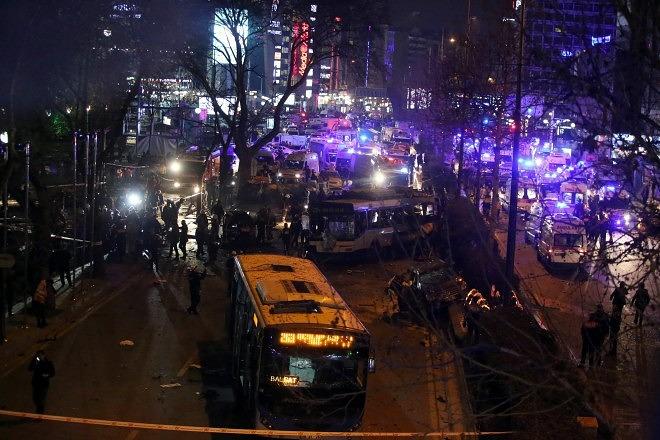 Eksplozija auto – bombe u Ankari, najmanje 27 mrtvih