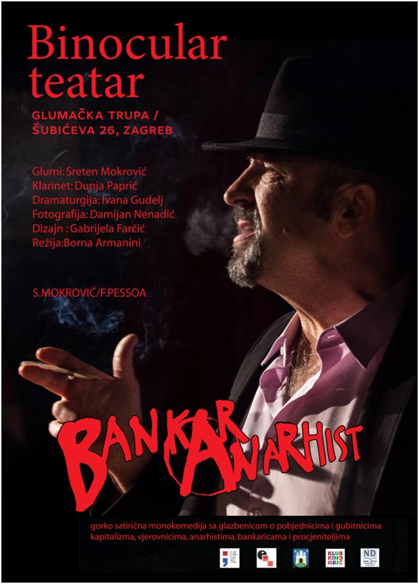 Sreten Mokrović / Ferdinando Pessoa: Bankar anarhist