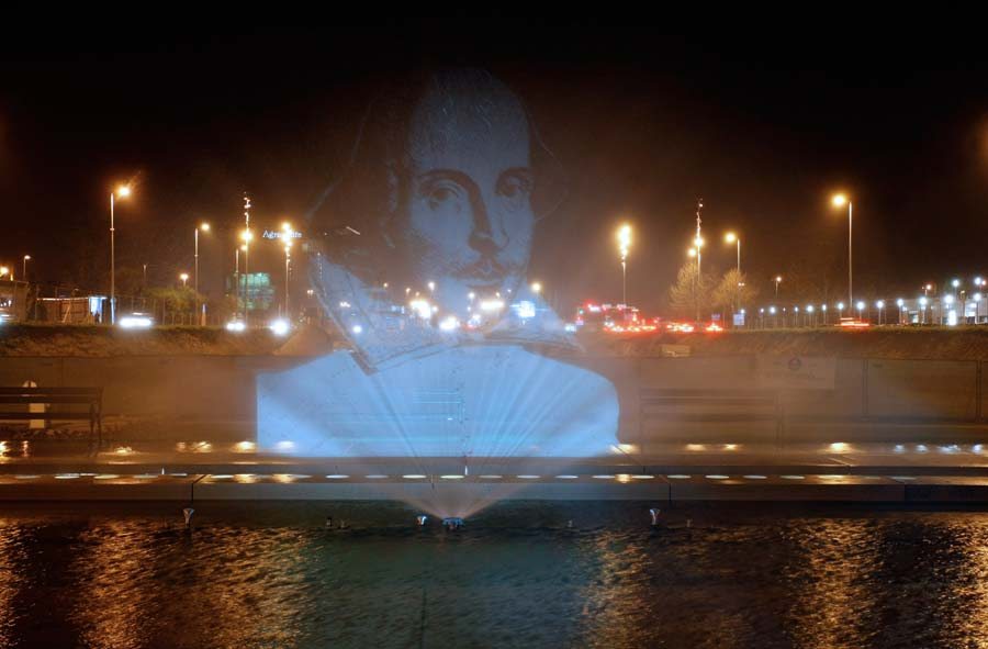 Prikazan 3D portret Williama Shakespearea