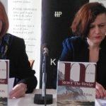Željka Lovrenčić i voditeljica tribine DHK Lada Žigo