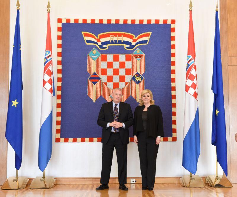 Predsjednica primila posebnog izaslanika američkog Državnog tajništva za pitanja holokausta