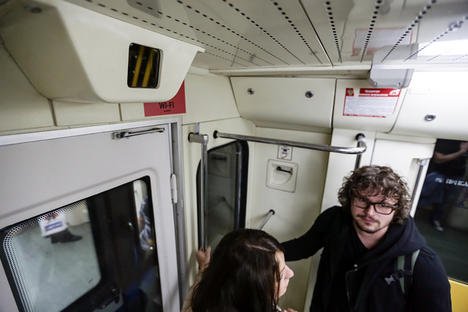 Zašto Rusi skeniraju lica u metrou?