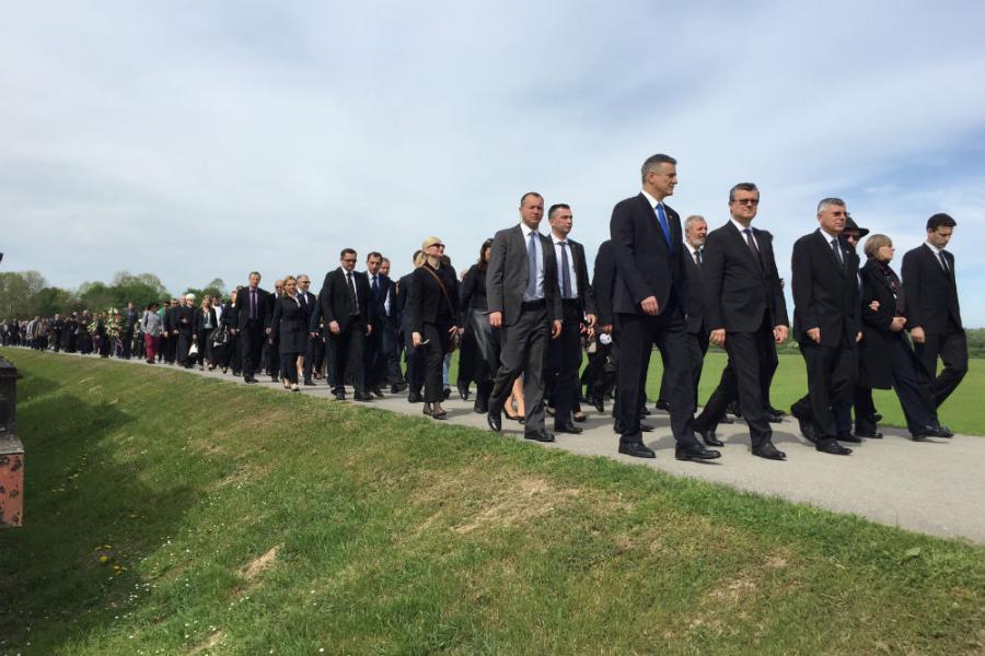 Jasenovac – Održana službena državna komemoracija žrtvama logora