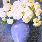 11 Nedeljko Vukić Ruže uljni pastel 63 X 45 cm 700 Kn