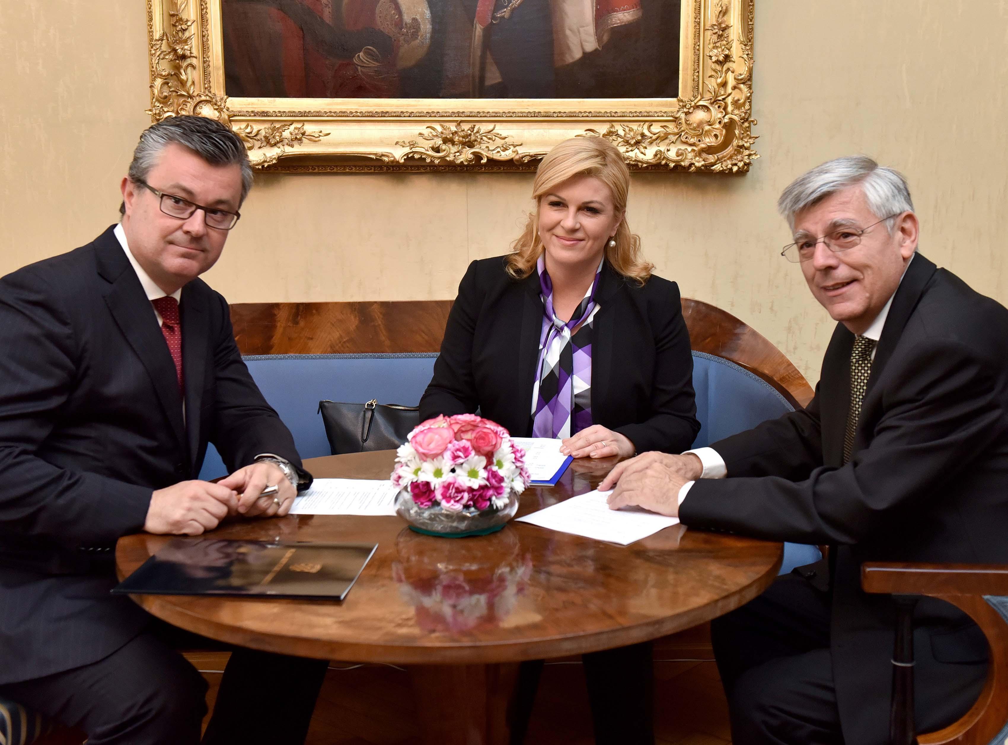 Održan sastanak državnoga vrha u povodu obilježavanja hrvatske državnosti