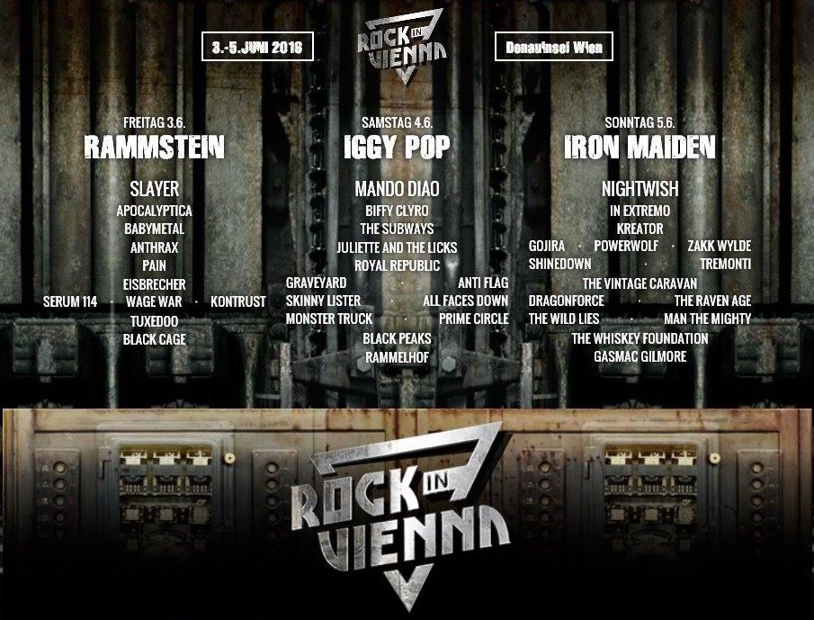 Velikani rocka na bečkom festivalu