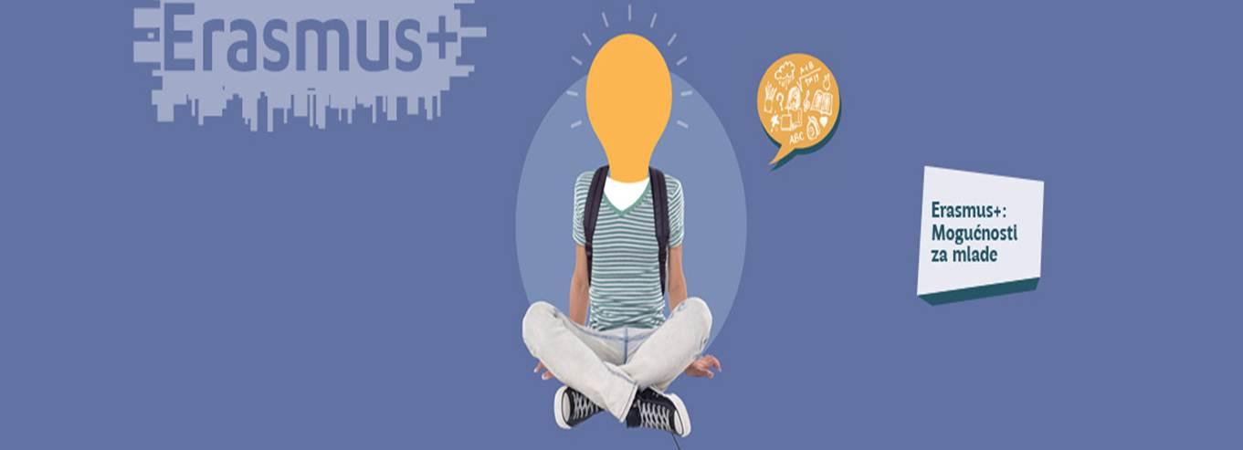 Mladi – Sudjelovanje u programu Erasmus+