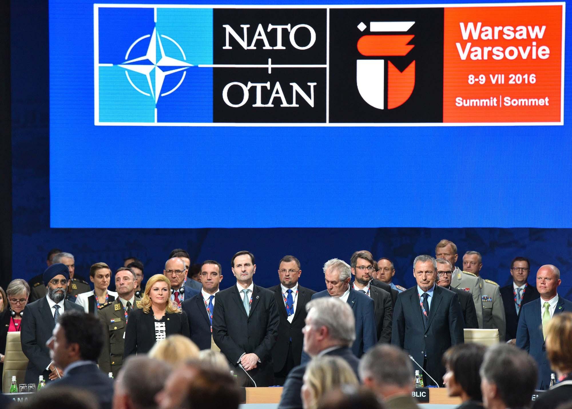 Predsjednica Grabar-Kitarović sudjeluje na Sastanku na vrhu Sjevernoatlantskog saveza u Varšavi