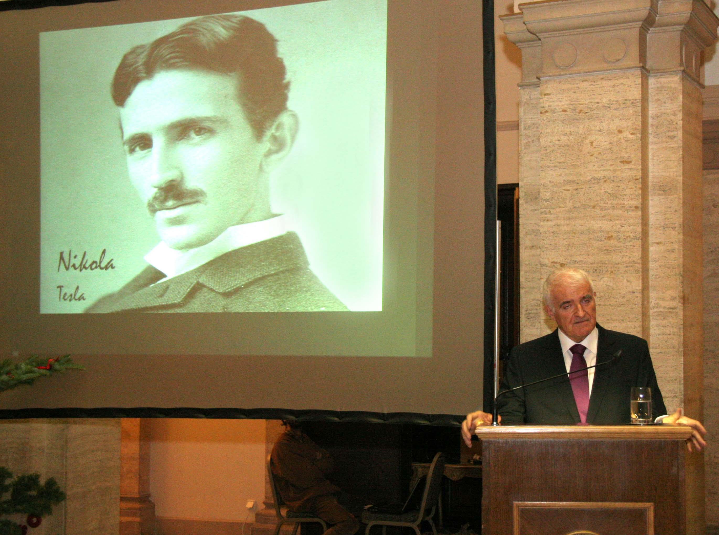 Izjava predsjednika HAZU povodom 160. godišnjice rođenja Nikole Tesle
