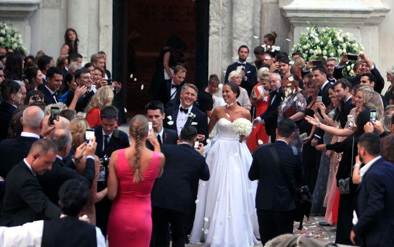 SPORTSKA ROMANSA U VENECIJI Održano i crkveno vjenčanje Ane Ivanović i Bastiana Schweinsteigera