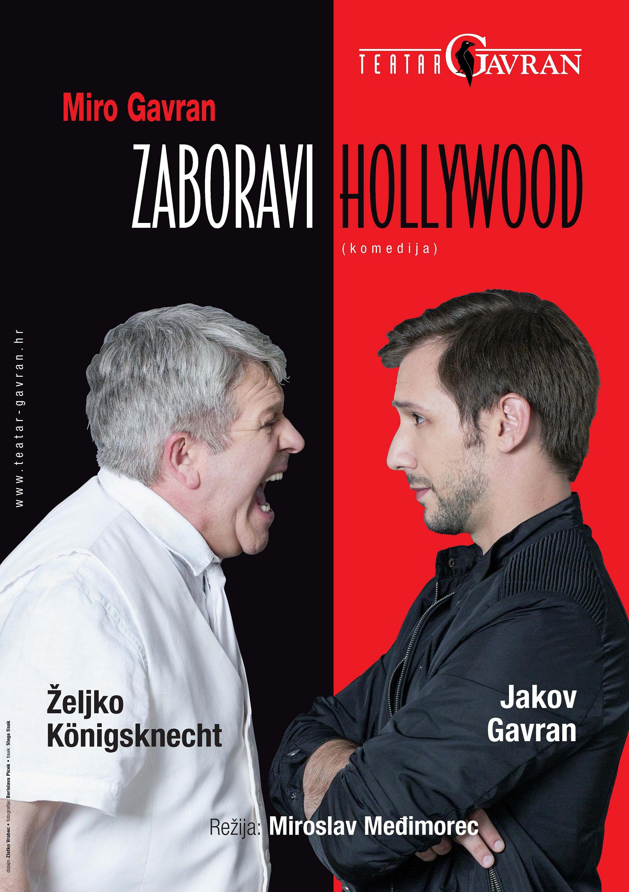 Zaboravi Hollywood druga verzija plakata