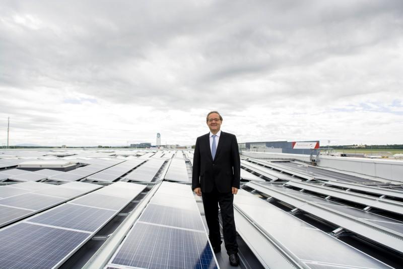 Prva fotonaponska postrojenja u bečkoj zračnoj luci Schwechat
