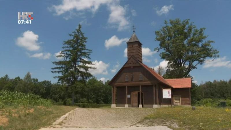 Drvene kapelice zaštitni znak Turopolja