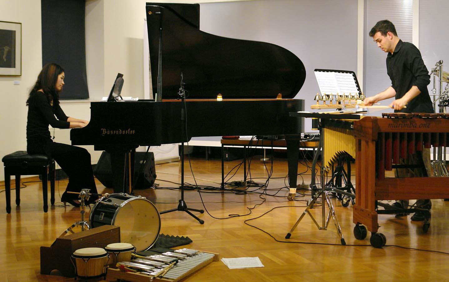 41. SGJ – Koncert američkog udaraljkaša Garretta Mendelowa i japanske pijanistice Satoko Hayami