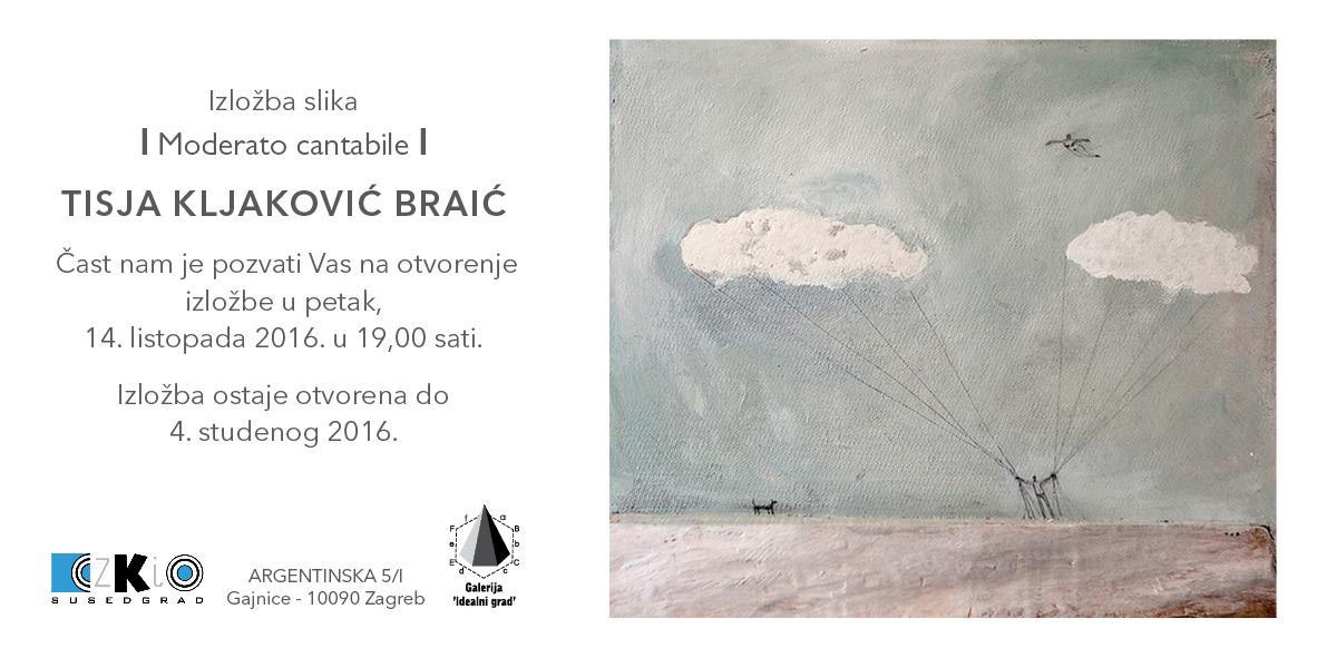 Izložba Tisje Kljaković Braić u galeriji Idealni grad